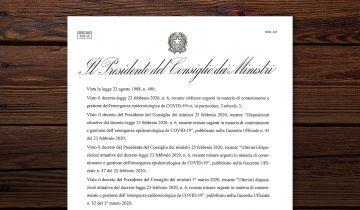 DPCM 04 Maggio 2020 – Chiusura Aziendale